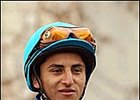 Jockey Rafael Bejarano, sidelined at least six weeks.
