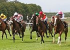 "Timepiece (right) takes control in the Falmouth Stakes. <br><a target=""blank"" href=""http://www.bloodhorse.com/horse-racing/photo-store?ref=http%3A%2F%2Fpictopia.com%2Fperl%2Fgal%3Fprovider_id%3D368%26ptp_photo_id%3D9590248%26ref%3Dstory"">Order This Photo</a>"