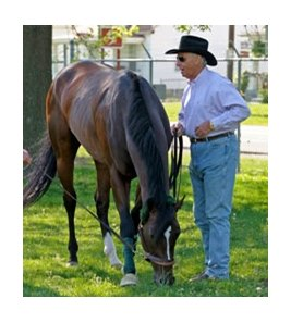 D. Wayne Lukas with Flying Private