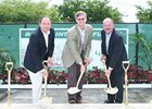 The ground breaking for the new Calder Casino & Race Course was held on June 3, 2009.