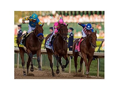 American Pharoah, Firing Line, and Dortmund