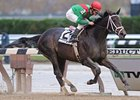 "Unbridled Belle cruises to victory in the Turnback the Alarm Handicap.<br><a target=""blank"" href=""http://www.bloodhorse.com/horse-racing/photo-store?ref=http%3A%2F%2Fpictopia.com%2Fperl%2Fgal%3Fprovider_id%3D368%26ptp_photo_id%3D8591866%26ref%3Dstory"">Order This Photo</a>"