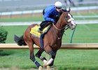 Union Rags' strong five-furlong work at Churchill Downs