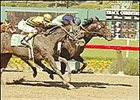 Joey Franco (#10), left, outgames Publication to win the Triple Bend Handicap Saturday.