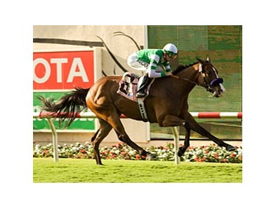 "Afleet Eagle pulls away in the Oceanside at Del Mar.<br><a target=""blank"" href=""http://www.bloodhorse.com/horse-racing/photo-store?ref=http%3A%2F%2Fpictopia.com%2Fperl%2Fgal%3Fprovider_id%3D368%26ptp_photo_id%3D8354214%26ref%3Dstory"">Order This Photo</a>"
