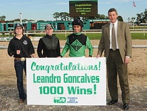 1,000th Win Has Special Meaning for Goncalves