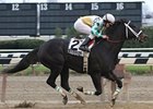 "Fabulous Strike cruises to victory in the Fall Highweight Handicap.<br><a target=""blank"" href=""http://www.bloodhorse.com/horse-racing/photo-store?ref=http%3A%2F%2Fpictopia.com%2Fperl%2Fgal%3Fprovider_id%3D368%26ptp_photo_id%3D6878002%26ref%3Dstory"">Order This Photo</a>"