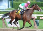 "Icon Project ran an impressive race in the Personal Ensign Stakes.<br><a target=""blank"" href=""http://www.bloodhorse.com/horse-racing/photo-store?ref=http%3A%2F%2Fpictopia.com%2Fperl%2Fgal%3Fprovider_id%3D368%26ptp_photo_id%3D8445078%26ref%3Dstory"">Order This Photo</a>"
