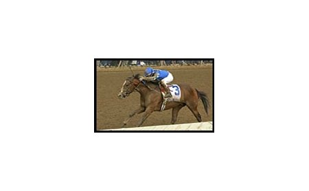 Harlan's Holiday, shown winning the Bluegrass Stakes, continues to point toward the BC Classic.