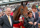 "Montjeu's son Masked Marvel won the Ladbrokes St. Leger Stakes on Sept. 10.  <br><a target=""blank"" href=""http://www.bloodhorse.com/horse-racing/photo-store?ref=http%3A%2F%2Fpictopia.com%2Fperl%2Fgal%3Fprovider_id%3D368%26ptp_photo_id%3D9667547%26ref%3Dstory"">Order This Photo</a>"