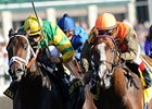 "Hoofit (right) outfights Aikenite to win the Stoll Keenon Ogden Phoenix.<br><a target=""blank"" href=""http://www.bloodhorse.com/horse-racing/photo-store?ref=http%3A%2F%2Fpictopia.com%2Fperl%2Fgal%3Fprovider_id%3D368%26ptp_photo_id%3D9698252%26ref%3Dstory"">Order This Photo</a>"