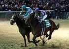 Blame and Zenyatta in the 2010 Breedres' Cup Classic.