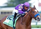 "Plum Pretty in the Kentucky Oaks.<br><a target=""blank"" href=""http://www.bloodhorse.com/horse-racing/photo-store?ref=http%3A%2F%2Fpictopia.com%2Fperl%2Fgal%3Fprovider_id%3D368%26ptp_photo_id%3D9517163%26ref%3Dstory"">Order This Photo</a>"