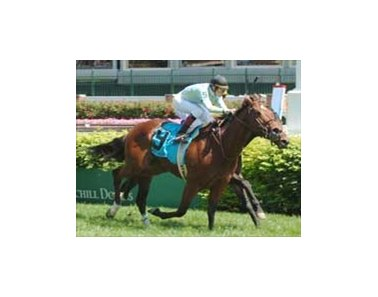 Man of Illusion wins Aegon Turf Sprint.
