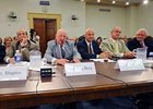 Members of the Horseracing community testify at Congressional Hearing.