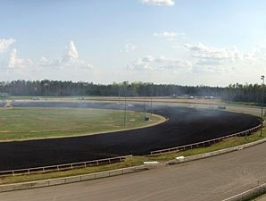 Colonial Downs' Turf Course Set Ablaze