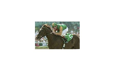 Crafty C. T., winning the 2001 San Rafael.