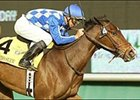 Mambo Slew wins the Miesque Stakes, Friday at Hollywood Park.