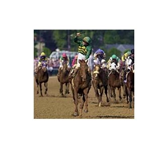 Secret Status, winning the 2000 Kentucky Oaks.
