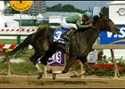 Friel's for Real shown winning the 2004 Pimlico Breeders' Cup Distaff Handicap.