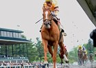 Wise Dan wins the Ben Ali Stakes.