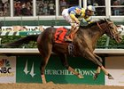 Street Sense's Derby Triumph is one of the choices for 2007th NTRA Moment of the Year.