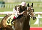 River Savage cruises to victory in the Hawthorne at Hollywood.