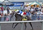 Jebrica won the Aug. 18 Emerald Downs Derby by 2 3/4 lengths.