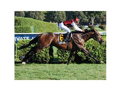 "Canadian shipper Marlang led the Saranac (gr. IIIT) field from start to finish. <br><a target=""blank"" href=""http://www.bloodhorse.com/horse-racing/photo-store?ref=http%3A%2F%2Fpictopia.com%2Fperl%2Fgal%3Fprovider_id%3D368%26ptp_photo_id%3D5739242%0D%0A%26ref%3Dstory"">Order This Photo</a>"