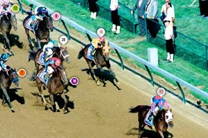 Thunder Gulch's Kentucky Derby Race Sequence