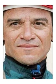 Jockey Cornelio Velasquez enters final week of Saratoga meet with most wins.