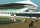 Arlington Park has requested racing dates for 2009 that would overlap those currently held by Hawthorne Racecourse.