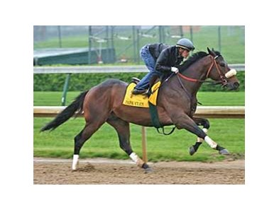 Papa Clem worked five furlongs at Churchill Downs on April 19.