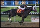 Repent, shown winning the Risen Star Stakes, will have Jerry Bailey aboard when he contests Saturday's Louisiana Derby.