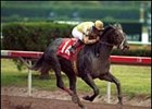 Monarchos was an impressive winner of the 2001 Florida Derby.
