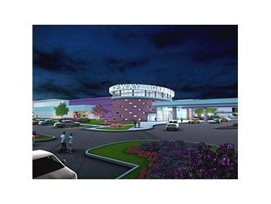 An artist's rendering of the new gaming and racing facility expected to open in the first quarter of 2014.