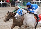 "Vineyard Haven (right) faces older horses for the first time in the Frank J. De Francis Memorial Dash.<br><a target=""blank"" href=""http://www.bloodhorse.com/horse-racing/photo-store?ref=http%3A%2F%2Fpictopia.com%2Fperl%2Fgal%3Fprovider_id%3D368%26ptp_photo_id%3D8443357%26ref%3Dstory"">Order This Photo</a>"