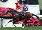 Blazing Speed wins the QEII Cup at Shat Tin.