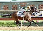 Pollard's Vision, winning the Illinois Derby.
