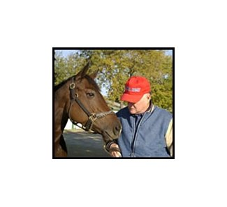 Xtra Heat, with trainer John Salzman during BC Week, has been sold privately.