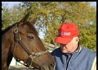 Xtra Heat, with trainer John Salzman during BC Week.