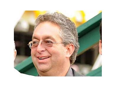 Gary Contessa, leading trainer in New York, is accepting of the new toe grab rule issued by NYRA.