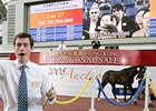 Lot 27, Redoute's Choice colt, brought HK$5.5m at the Hong Kong International Sale Dec. 13.