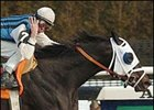 Richard Migliore crosses the finish line on the 4,000th winner of his career.