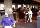 Keeneland reported that 195 horses were sold Saturday for a gross of $2,749,500.