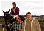 Cleve Delp Saddles First Winner at Laurel