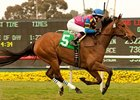 Star Billing wins the 2011 Senorita Stakes.