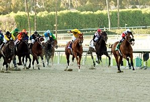 Santa Anita Opens and Records Fall