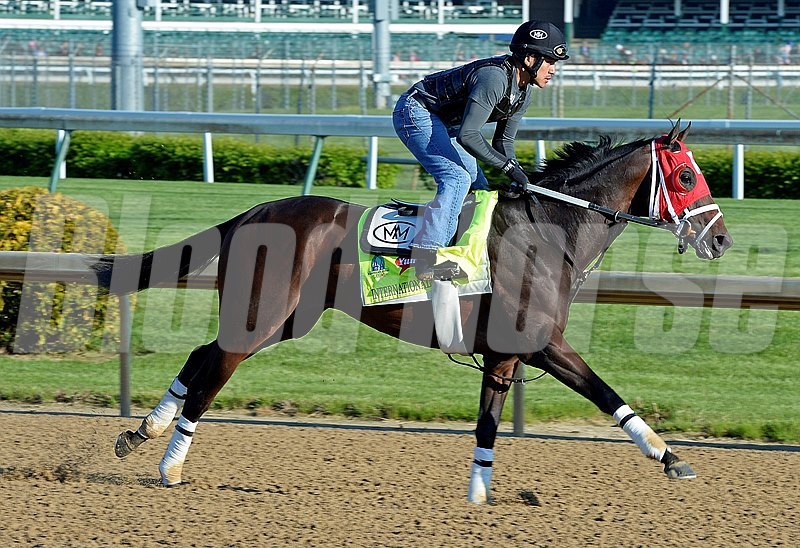 International Star at Churchill for Kentucky Derby.