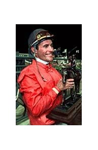 Jockey Gary Stevens was subject of alleged extortion attempt.